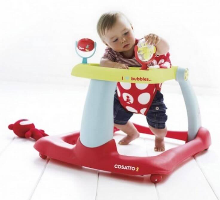 Gåstole, fjender af babyers første skridt?