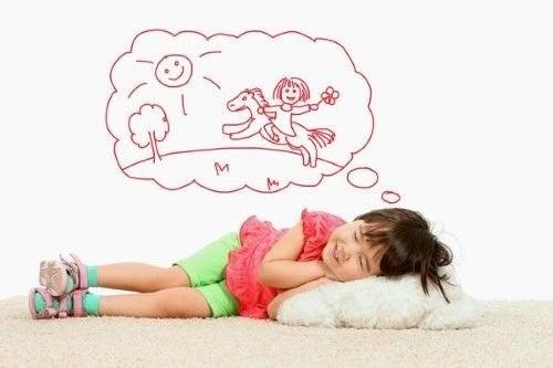 barn drømmer om sene sengetider