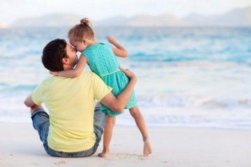 Far og Datter Har Et Magisk Forhold