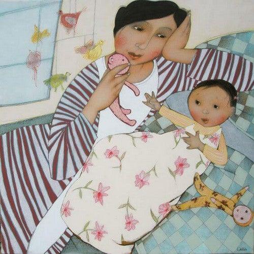 Mødre Sover Ikke. De Er Altid Opmærksomme