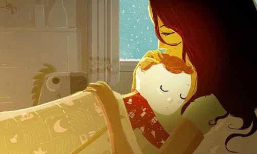 Kram og kærtegn er ikke forkælelse, men opdragende