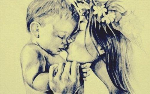 Kunsten, at kæle for dit barn