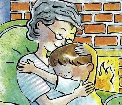 jeg elsker min bedstemor