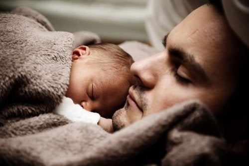 Når du bliver far - sover du med baby