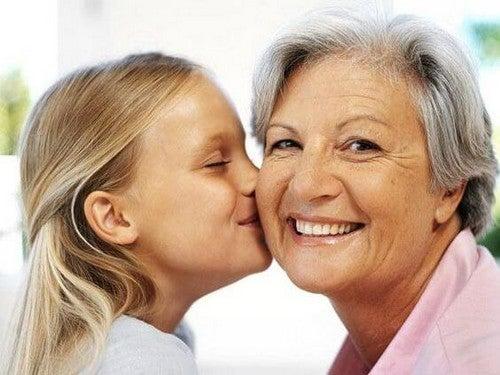 mormødre er vigtige for børnebørn