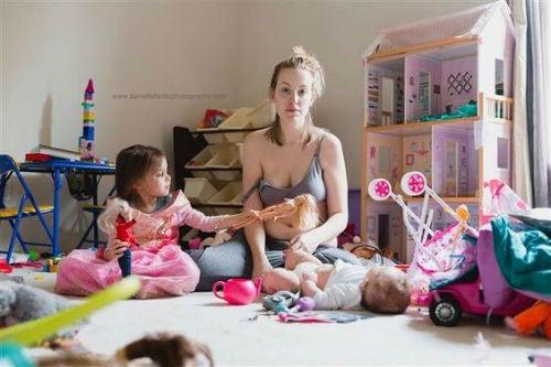 Et viralt foto viser sygdommen, som mødre ikke snakker om
