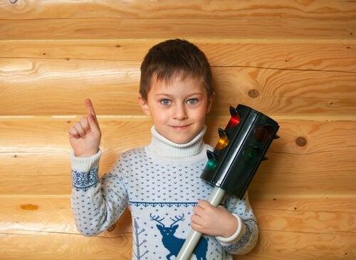 Trafiklys-teknikken hjælper børn til at styre deres vrede