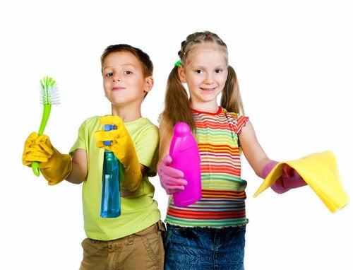 Børn arbejder