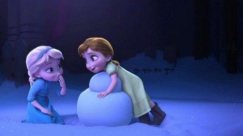elsa og anna fra Frost