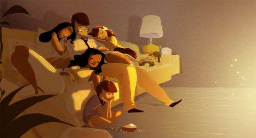 Sammen er vi udmattede og trætte