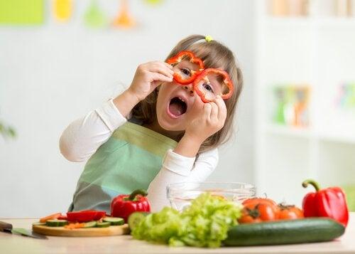 Grøntsager kan forhindre anæmi.