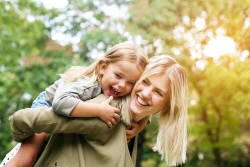 hvordan en fraværende mor på virket ens barn