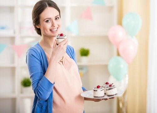 Kvinde som er gravid