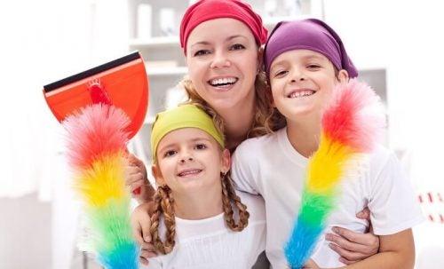 12 gode råd til rengøring for at holde et hus rent