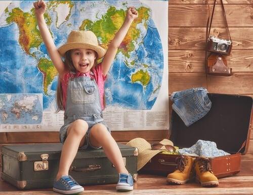 Fordelene ved at rejse fra en ung alder