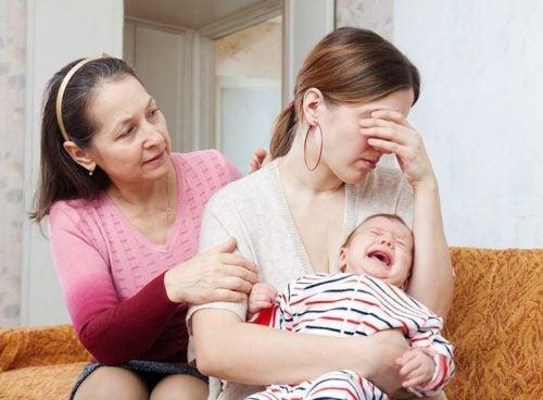 Ked af det mor med barn
