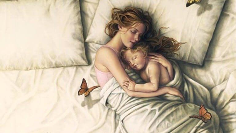 En mor der er stolt af sit barn og som altid vil være det