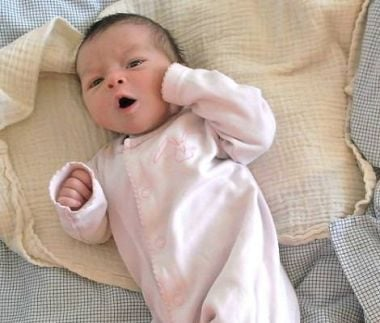 Nyfødt gaber