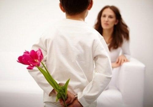 mødre opgiver mange ting for deres børn