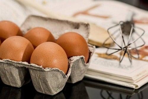 æg indeholder D-vitamin
