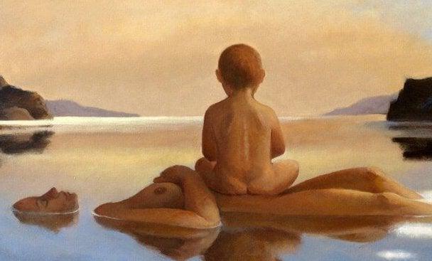 Frigjort fra frygt - Hold dit barn tæt på din hud og sjæl