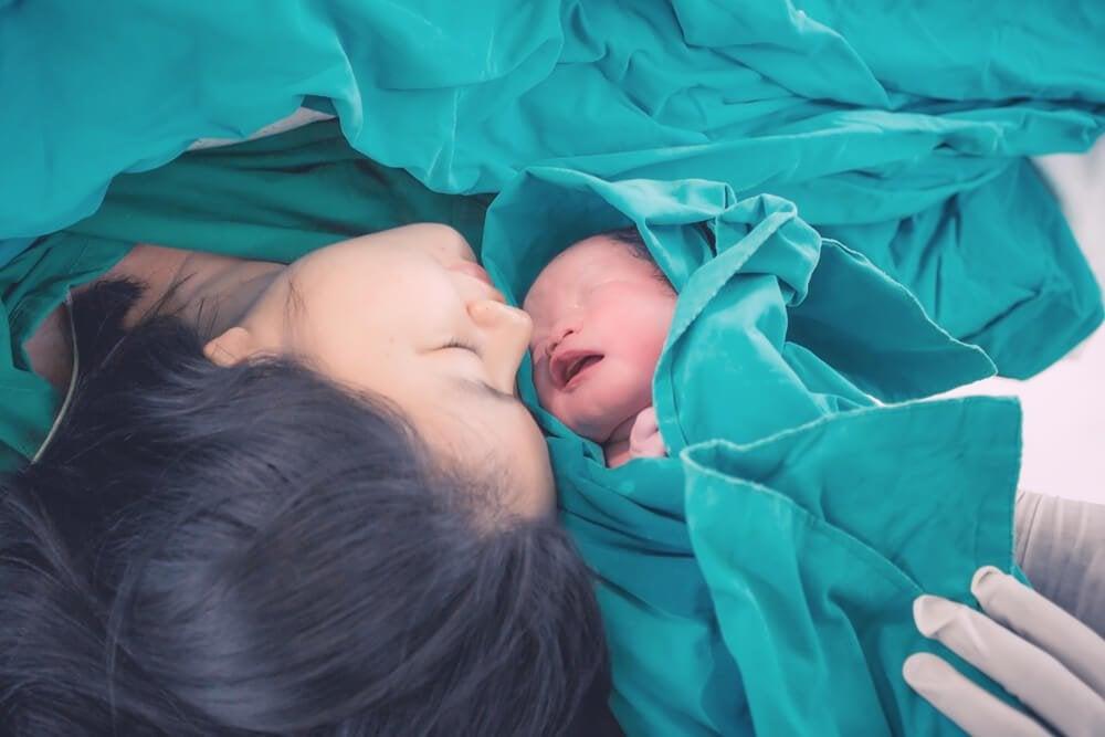 Smerten ved at føde, som mødre gennemgår