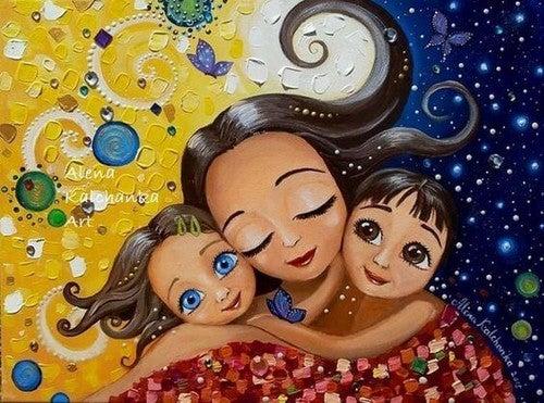 Kaerlig Mor Det Gor Ikke Dit Barn Forkaelet Bornenes Verden