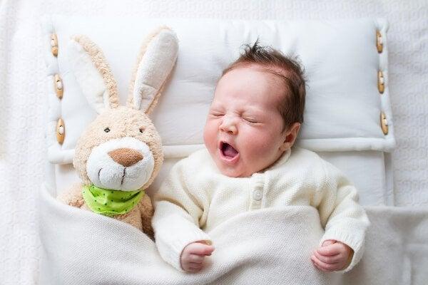 Baby sover ikke gennem natten