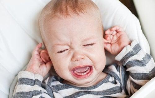 Barn har ondt i ørerne