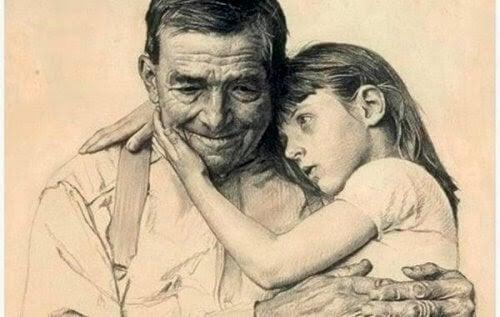Pige og bedstefar