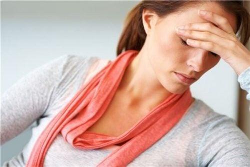Mor med hovedpine
