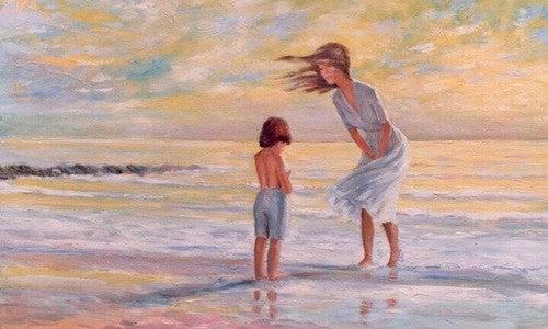 Når du elsker et barn, opdager du nye steder i hjertet