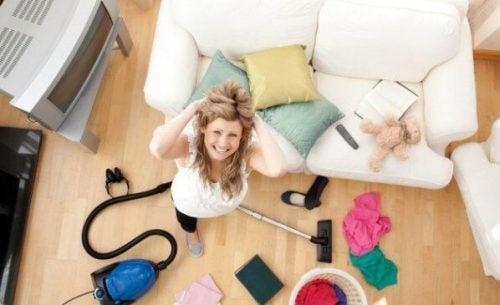 Hjemmegående mødre arbejder også