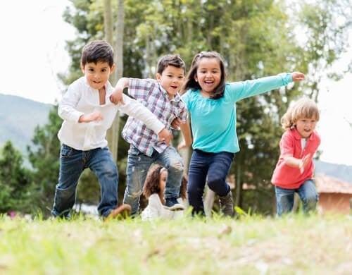 Motorisk udvikling hos børn i alderen 0-5 år