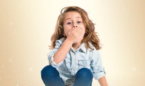 Canker sår i børn