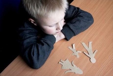 Skilsmisse tager hårdt på børn