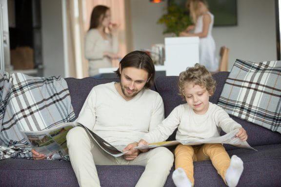 Børns rollemodel kommer hjemmefra