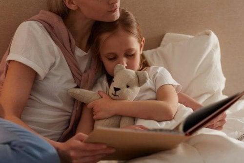 Vigtigheden af at læse godnathistorier til børn