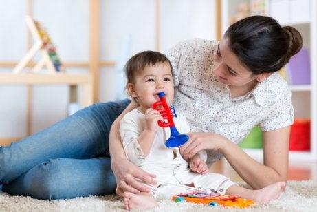 3 måder at underholde din baby på