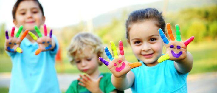 3 typer håndværk til børn mellem 3 og 5