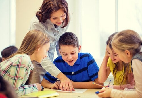 Børn lærer at udtale korrekt