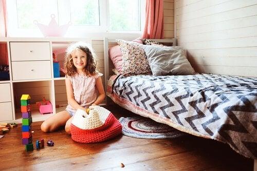 At lære børn at være organiseret på