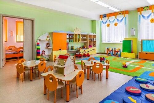 Organiser et klasseværelse med Montessori-metoden