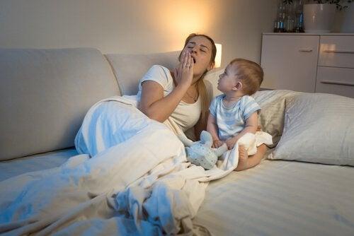 Råd, hvis din babys sovevaner er ude af skema