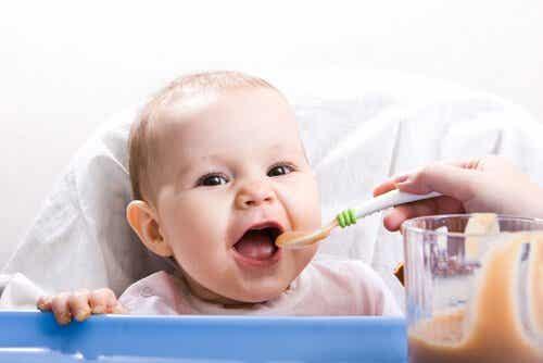 Sunde opskrifter for babyer mellem 9 og 12 måneder