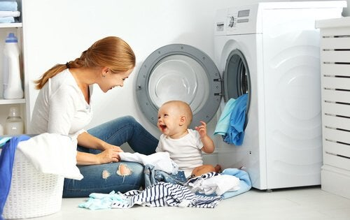 7 råd til at vaske babytøj