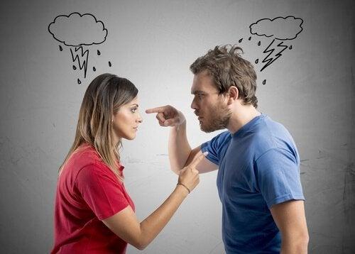 At skændes foran børn er en dårlig idé