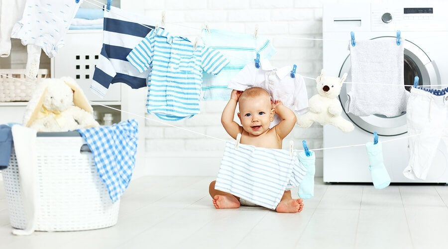 At vaske din babys tøj på den rigtige måde