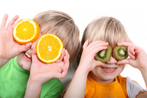 Vitaminer i fødevarer som er vigtige til børn