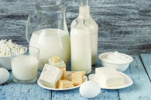 Mejeriprodukter er rige på vitaminer